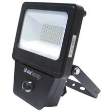 Proiettore Led Pro 20w Con Sensore Pir 4000k 1600 Lumen Ip54