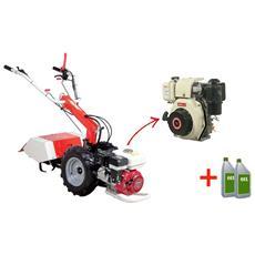 Motocoltivatore A Diesel Mc 201 D5 Motore Jet Power Ud 500 5 Hp
