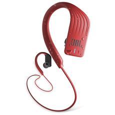 Cuffie Sportive Intrauricolari Endurance Sprint Wireless Bluetooth Resistenti all'acqua con Controlli Touch Colore Rosso