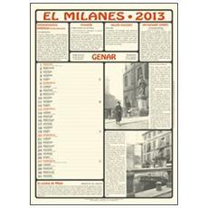 Milanes 2013. Con libro (El)