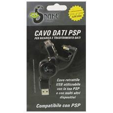 Cavo Dati Retrattile Mini USB per PSP Slim 2000