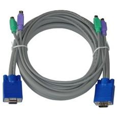 Cavo Per Kvm Vga / ps2 Lunghezza 1,5 M Master Switch