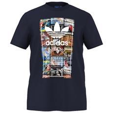 T-shirt Uomo Toungue Label Blu Xl