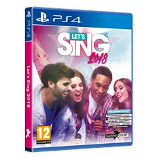 PS4 - Let's Sing 2018