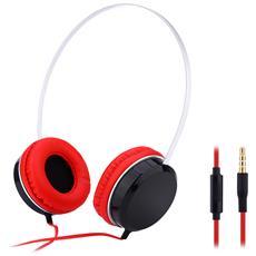 A50 Music Headphone Mega Bass Auricolare Stereo Music 3.5mm Aux Light Weight