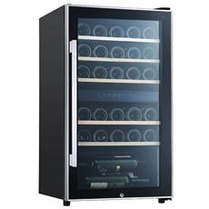 Cantinetta Vino ECS30.2Z Capacità 29 Bottiglie Colore Nero / Acciaio Inossidabile