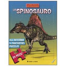 Lo spinosauro. Libro puzzle