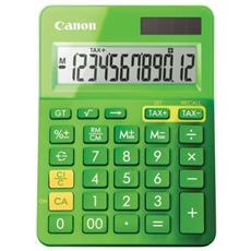 CALCOLATRICE CANON LS-123K Verde 12 Cifre LCD