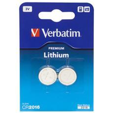 1x2 Verbatim CR 2016 Lithium - Europa