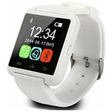"Smartwatch U8 Display 1.44"" Bluetooth Bianco - Italia"