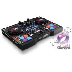 Console DJ DJControl Instinct P8 Party Pack con 8 Cinturini LED