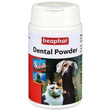 Dental Pet Polvere Per Cani E Gatti 100% Naturale Rimuovere Alito Cattivo