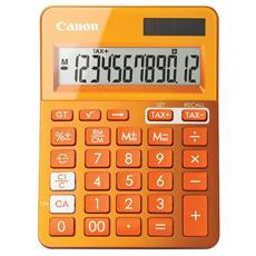 CALCOLATRICE CANON LS-123K Arancione 12 Cifre LCD