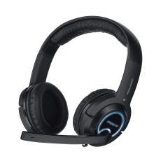Cuffie Stereo con Microfono per Giochi e PC Connessione Cavo Nera 3 m