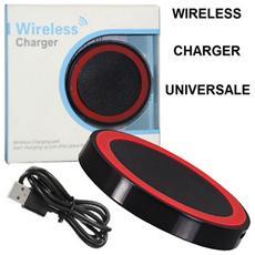 Travel Casa Wireless Compatibile Con Tutti I Dispositivi Dotati Di Tecnologia Qi Colore Nero E Rosso Confezionato In Blister