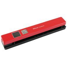 Scanner can Anywhere 5 1200 dpi - Rosso