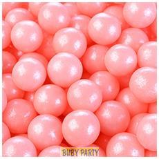 Perle Di Zucchero Perlescenti Rosa Ø 0,9 Cm 100g