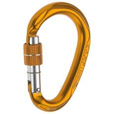 Moschettone Hms Compact Lock Unica Arancio