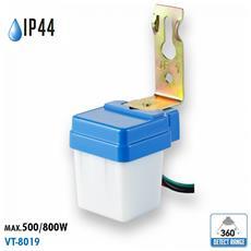 Sensore Crepuscolare Fotocellula Ip44 Esterno Vt-8019 5081