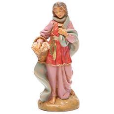 Pastorella Claudia Edizione Limitata 2016 12cm In Resina Statuetta Presepe
