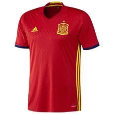 Maglia Spagna Home Euro 2016 Rosso Giallo Xl