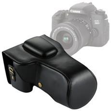 Custodia Finta Pelle Per Canon Eos 760d / 750d Per Lente 18-135mm