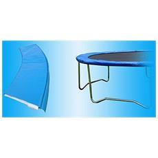 Cuscino Copri Molle Blu Per Trampolino Combi Xl Ø 366 Cm. Garlando