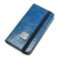 Book Slim Classic Custodia a libro Blu