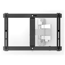 """Supporto Montaggio a Parete per Schermi LCD Acciaio Nero 70"""" 30 kg 180° SV6650"""
