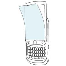 Screen Protector Blackberry 9800