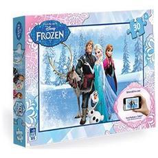 Puzzle Interattivo Frozen 30 Pz