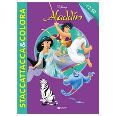 Aladdin. Staccattacca e colora. Con adesivi