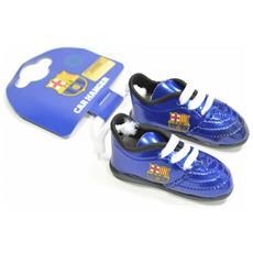 Ciondolo A Forma Di Scarpe Da Calcio Per Auto (taglia Unica) (blu / bianco)