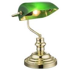 Antico Tavolo Retrò Nostalgico Lampada Banchieri Lampada Scrivania Lampada Antica Gró¼n 2491 K