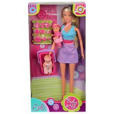 Bambola Steffi Love Babysitter Multicolore