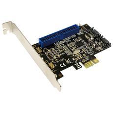 ICC X-PCI-SATA26I - Scheda PCI Express SATA 6Gbps 2xSATA 1xATA