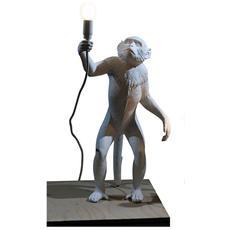 Lampada da Tavolo in resina MONKEY LAMP in Piedi Dimensioni 46 x 27,5 x h54 cm