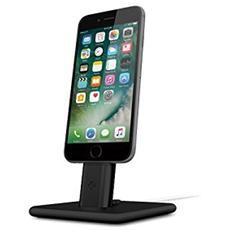 Hirise 2 Stand per iPhone e iPad con supporto cavo Lightning - Nero