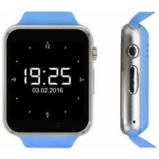 Smartwatch Sw Kn 1 Display 1.54'' 32GB con Bluetooth Colore Blu / Argento