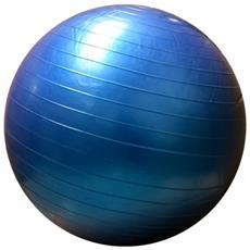 Palla Ginnica Gym Ball Blu Yoga Fitness Esercizi Allenamento Casa Palestra