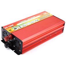 Xuyuan 3000w Solar Car Inverter Dc 12v A Ac 220v Modificato Veicolo A Onda Sinusoidale Montato Caricabatterie