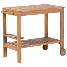 Tavolino Da Giardino In Legno Caserta