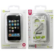 MUCMPBKIPT4G002 Cover Trasparente custodia MP3 / MP4