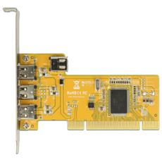 89443, PCI, IEEE 1394 / Firewire, LSI L-FW323-07, Windows 10 Education, Windows 10 Education x64, Windows 10 Enterprise, Windows 10 Enterprise x64, Wi, Argento, Giallo, Scatola