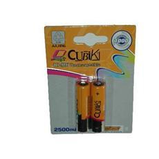 *Batterie Ricaricabili Ni-Mh 1,2 V Stilo Aa 2500 Mah Blister 2 Pz