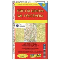 Ge-10 Valpolcevera. Carte dei sentieri di Liguria