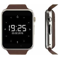 Sportwatch Sw Kn 1 Display 1.54'' 32GB con Bluetooth Colore Argento / Marrone