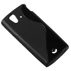 XPERIA-RAY-HÜLLE Cover Nero custodia per cellulare