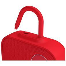ONE Click, Mono, Con cavo e senza cavo, Batteria, Bluetooth / 3.5 mm, Universale, Rosso