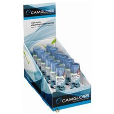 Pratico display con 12 CAMGLOSS Microfibre Cloth (18x20)